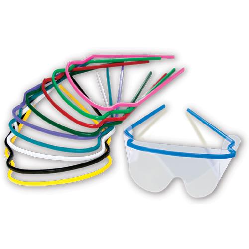 Okulary ochronne opakowanie 10 ramek + 20 folii