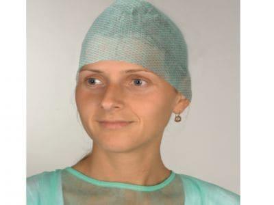 Czepek chirurgiczny damski wiązany C11