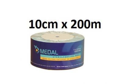Rękaw do sterylizacji 10cm x200m