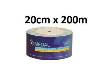 Rękaw do sterylizacji 20cm x 200m