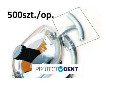 Osłona na uchwyt do lampy stomatologicznej typ T 500szt./op.