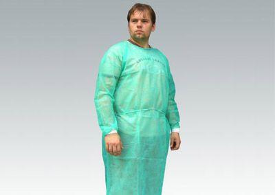 Fartuch chirurgiczny z włókniny PP 30g/m2 JAŁOWY